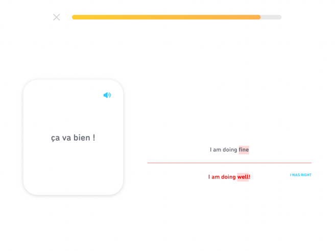 2.20.2018 - duolingo - Fine versus well