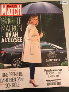 6.11.2018 - Brigitte Macron - Screenshot__10_53_PM